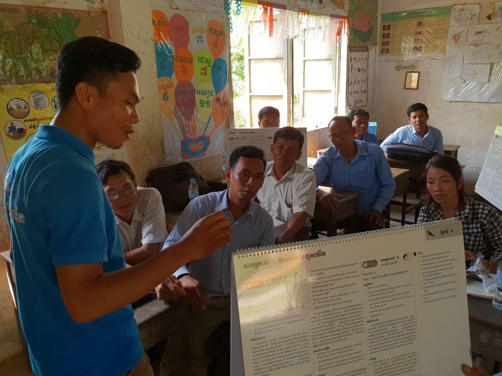 Environment Education activities – November 2018 Kampong Speu education Wildlife Alliance environmental education