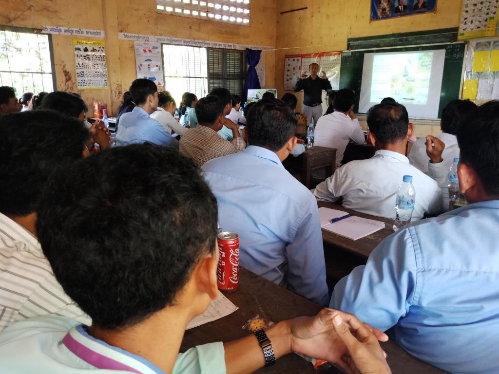Environment Education activities – November 2018 Kampong Speu school environmental education