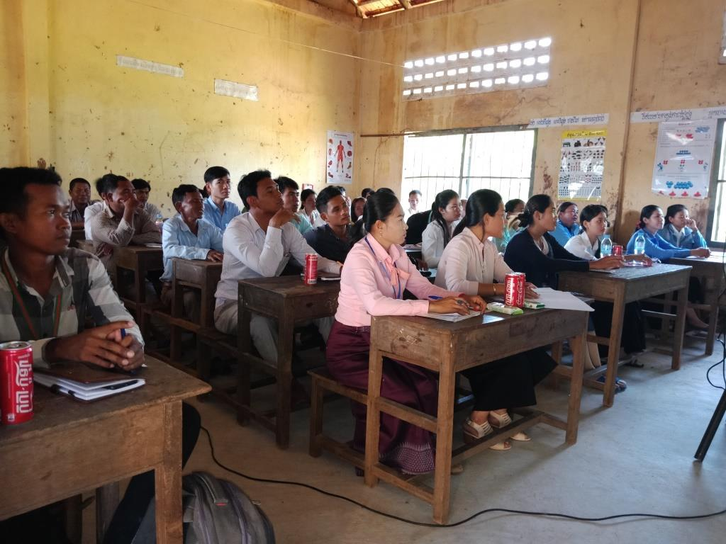 Environment Education activities – November 2018 Kampong Speu school