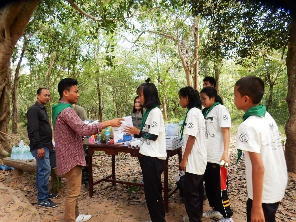 Environment Education activities – November 2018 Protecting Wildlife Youth Camp