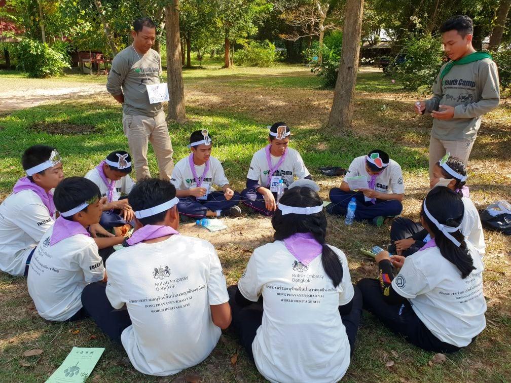 Environment Education activities – November 2018 Protecting Wildlife Youth Camp Mobile Environmental Education
