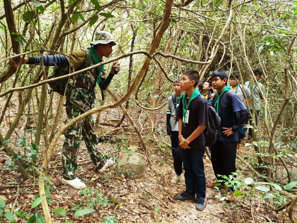 Environment Education activities – November 2018 Protecting Wildlife Youth Camp Nature Education