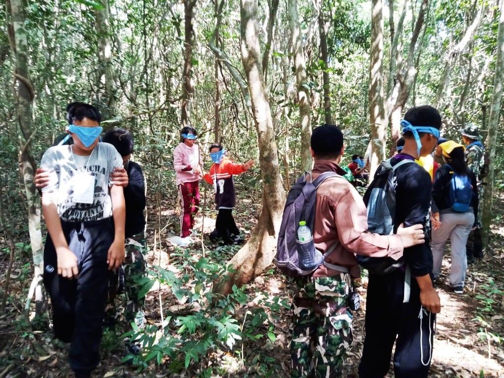 Environment Education activities – November 2018 Protecting Wildlife Youth Camp Thailand