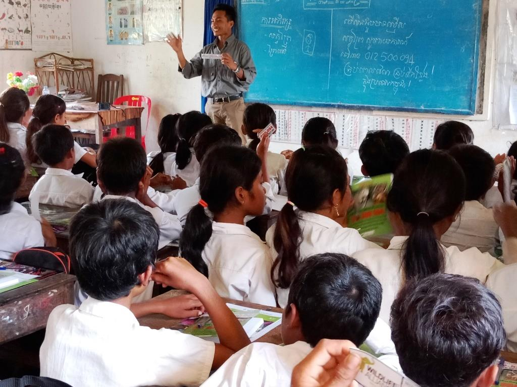 Environment Education activities – November 2018 Pumin School Cambodia