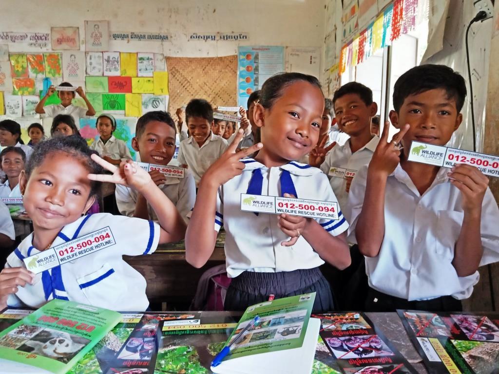 Environment Education activities – November 2018 Tang Por School Environamental Education