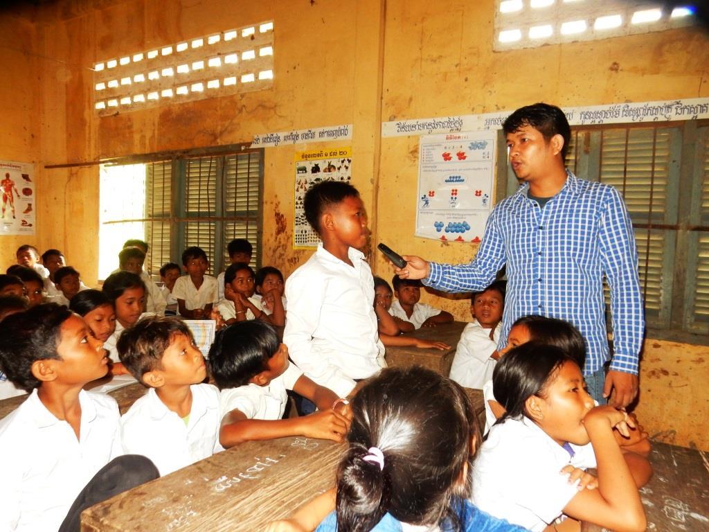 Environment Education activities – November 2018 Trapeang Phnov School