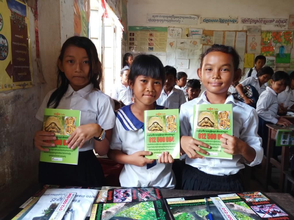 Environment Education activities – November 2018 Trapeang Phnov School Cambodia
