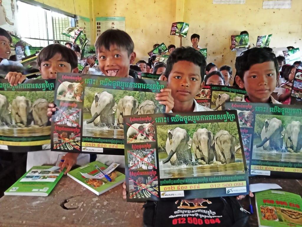 Environment Education activities – November 2018 Trapeang Phnov School Environmental Education