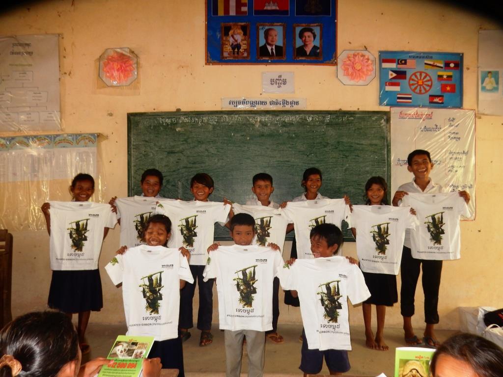 Environment Education activities – November 2018 habitat protection to students Brabie Moun School