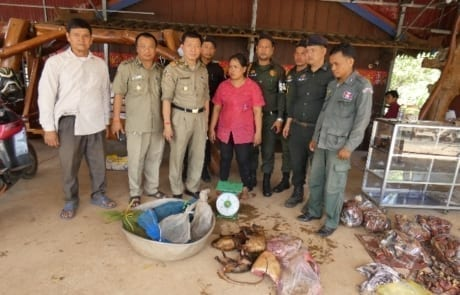 wildlife meat trade Wildlife Crime unit busts wildlife meat traders and rescues live turtles 2018