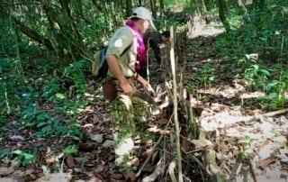 community rangers CAPU Animl traps Cambodia 320x202