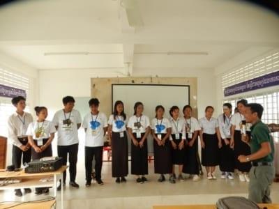 environment education Environment Education Project Activities Kouprey Express wildlife outreach Kampong Chnang 1 400x300