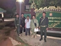 in the news In The News Timber dealer arrested Koh Kong prison 200x150