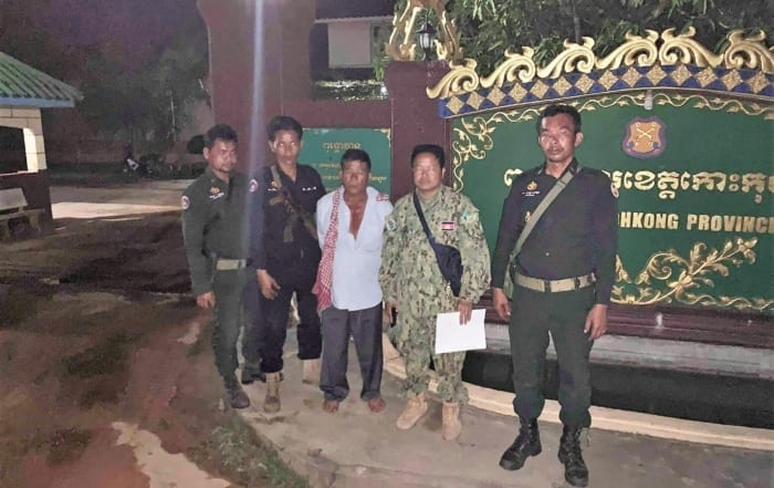 sponsor the green peafowl station Sponsor the Green Peafowl Station Timber dealer arrested Koh Kong prison 700x441