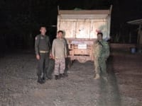 precious timber A truck carrying illegal precious timber seized truck caring Illegal precious Timber Wildlfie Alliance rangers 200x150