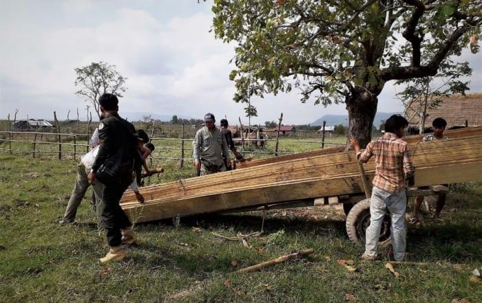 sponsor the clouded leopard station Sponsor the Clouded Leopard Station Construction Timber seized Cambodia 700x441