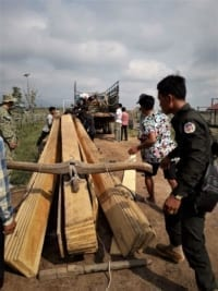 construction timber Construction Timber seized Construction Timber seized in raids in Cambodia 6 200x267