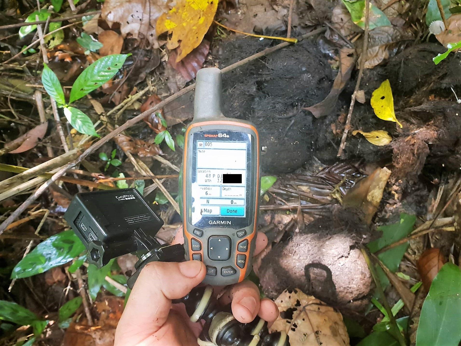 Elephant Monitoring elephant dung GPS