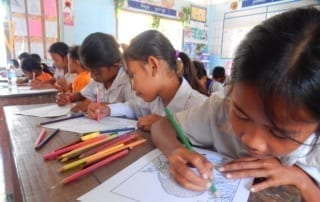 tamao wildlife rescue center Phnom Tamao Wildlife Rescue Center 2019 Feb students coloring 320x202