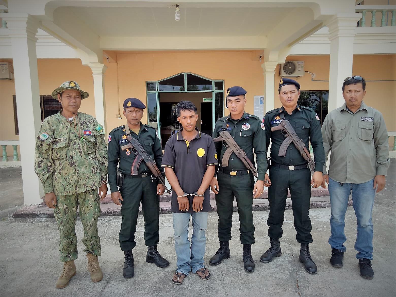 saving the rainforest Saving the rainforest logger arrested Cambodia