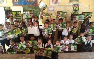environmental education Education intervention in a wildlife trade hotspot 2019