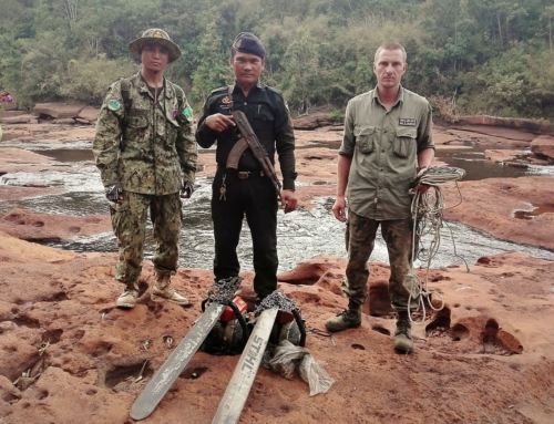 Gibbon Station rangers' deep wilderness patrol