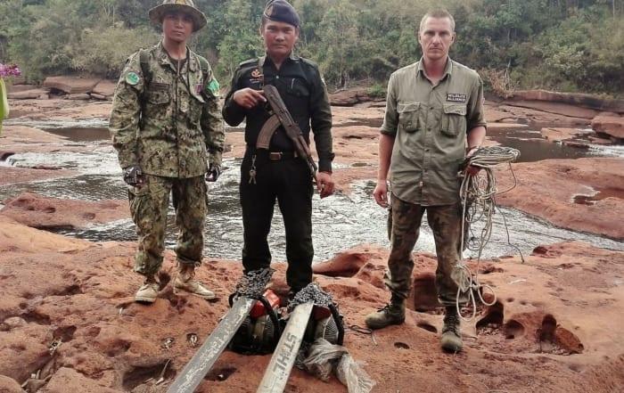 sponsor the gibbon station Sponsor the Gibbon Station illegal chainsaws in Cambodia 700x441