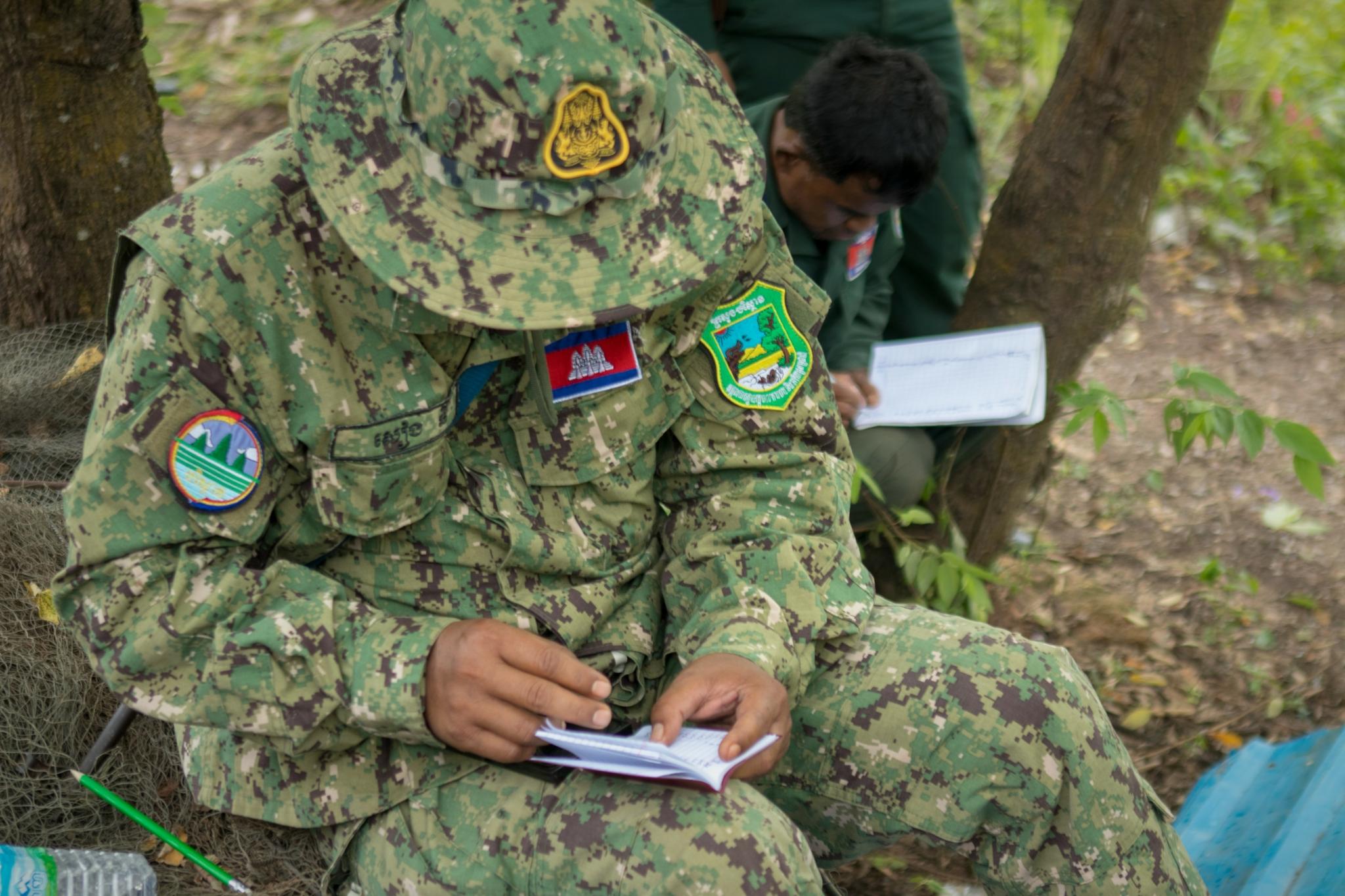 Wildlife Alliance rangers in Cambodia
